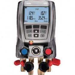 Analyseur froid TESTO 570 4 voies tous fluides Réf 05635702