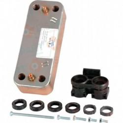 Echangeur sanitaire 16 plaques Remplace la réf. 61302409 Réf. 61302409-01 ARISTON THERMO