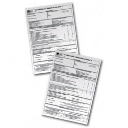 Carnet 25 attestations entretien BOIS Réf. ATB25/2 KANE