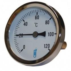 Thermo cadran d63mm 0/120 ° plong.40mm doigt gant lait DISTRILABO
