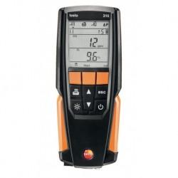 Analyseur Set testo 310 avec sonde, bloc secteur, imprimante, 1 rouleau papier et Mallette réf : 05633110