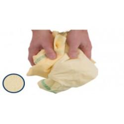 Drap jaune chiffon essuyage carton de 10kg réf DJ DELAUNAY