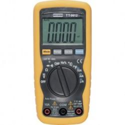 Multimètre numérique VCA/VCC/ACA/ACC/Capa/Freq/R/Diode/B uzzer TURBO TRONIC