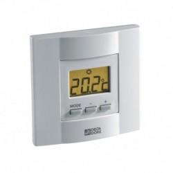 Thermostat électronique filaire à affichage digital pour chauffage et rafraichissement Tybox 51 Réf 6053036 DELTA DORE