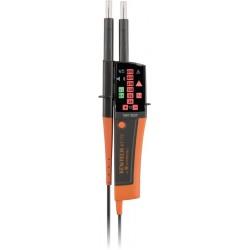 Testeur de tension IP2X VAT/DDT avec lampe torche Réf 09170143 TURBO TRONIC