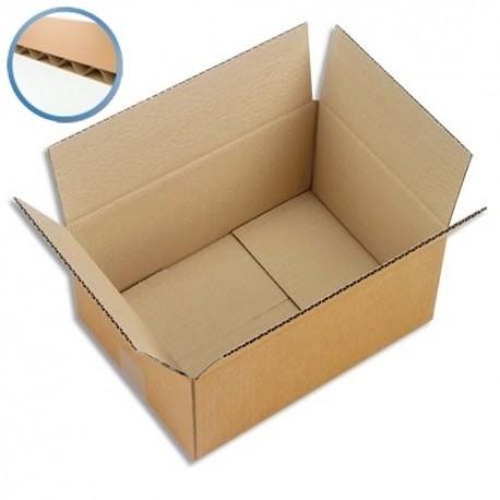 Carton d'emballage , caisse américaine simple cannelure par lot