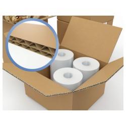 Carton d'emballage , caisse américaine double cannelure par lot