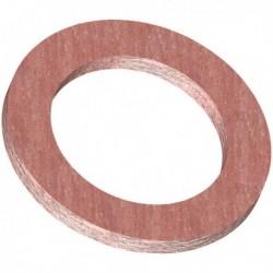 Joint de bride CSC Rouge DN 50 66 x 109 mm épaisseur 2 mm &nbspRéf. 23014506 GRIPP