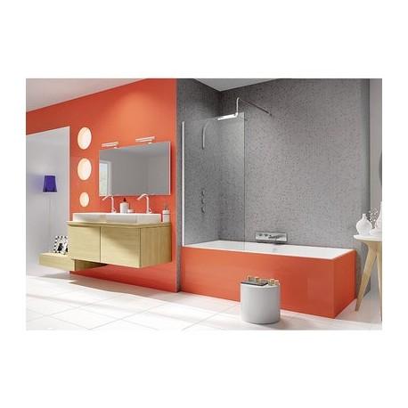 pare baignoire fixe ibiza. Black Bedroom Furniture Sets. Home Design Ideas
