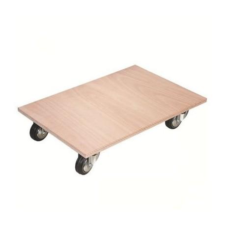 plateau roulettes surface bois. Black Bedroom Furniture Sets. Home Design Ideas