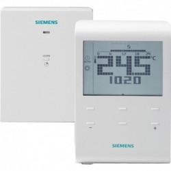 RDE100.1RF Thermostat d'ambiance programmable, programmation hebdo. sans fils Réf. S55770-T282 SIEMENS