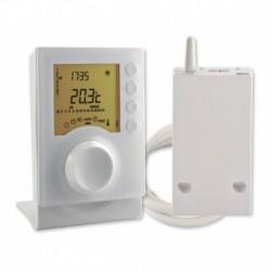 Thermostat programmable radio Tybox 137 J/H pour chauffage en mode confort/réduit Réf 6053007 DELTA DORE