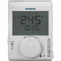 Thermostat d'ambiance grand LCD à piles journalier Réf RDJ100 / S55770-T379&nbsp SIEMENS