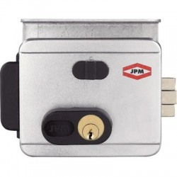 Électro-serrure 2 entrées et bouton intérieur JPM