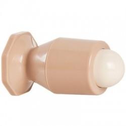 Butoir plastique à balustre beige