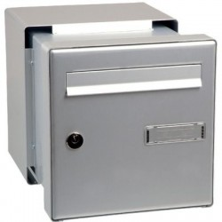 Boîte aux lettres - passe-mur à encastrer Decayeux