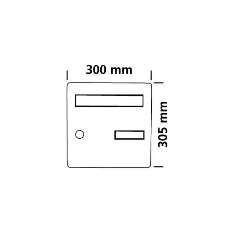 BLANC Decayeux 3015821562269 FACADE STANDARD COTE RUE